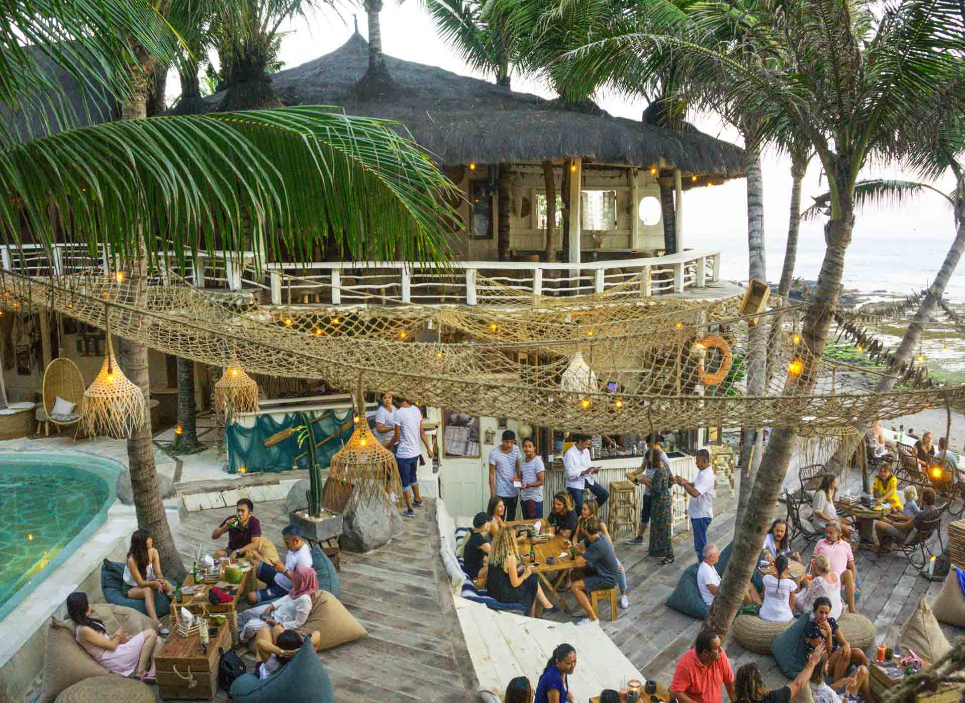 Newest Beach Club in Canggu