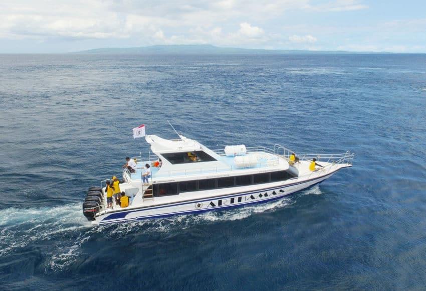fast boat to lembongan with arthamas express