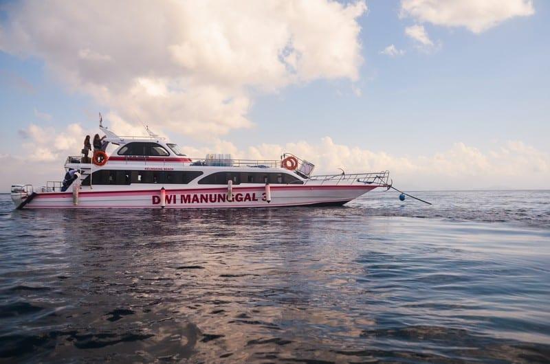 best boat from sanur to nusa penida