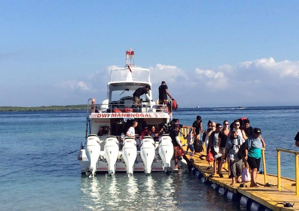 fast boat from sanur to nusa penida