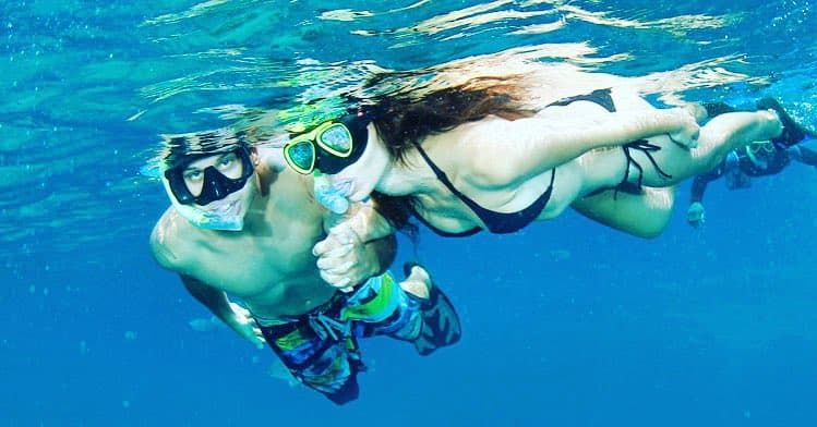 enjoy snorkeling at nusa lembongan island on your vacation