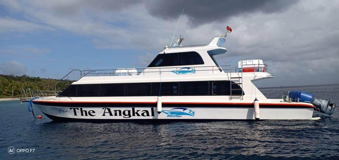 the angkal bali fast boat nusa penida