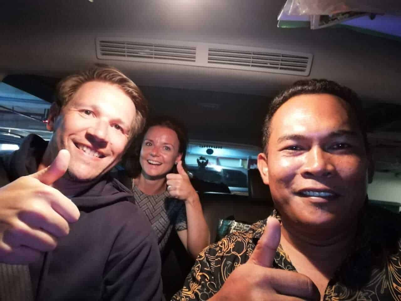 private airport pickup to ubud center