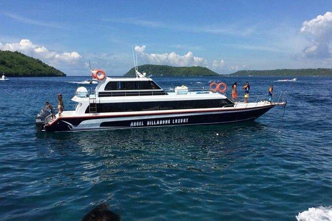 bali fast boat transfer to nusa penida from sanur bali